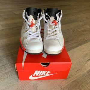 Jordan 6 Retro White Infrared Size 10.5
